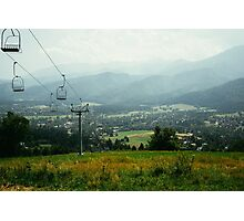 Cableway In The Tatras Photographic Print