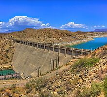 Elephant Butte Dam by njordphoto