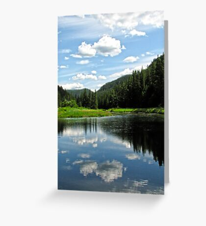 Reflected Serenity Greeting Card