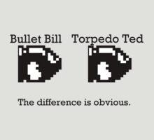 Bullet Bill & Torpedo Ted T-Shirt