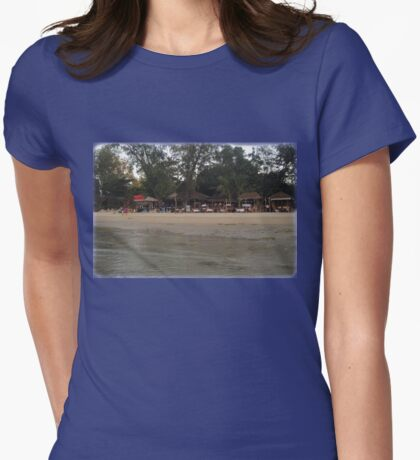 from the water's view Womens Fitted T-Shirt