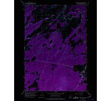USGS Topo Map Oregon Cline Falls 279376 1962 24000 Inverted Photographic Print