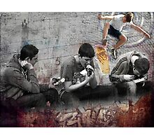 Boys Will Be Photographic Print