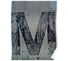 Just Another M Poster