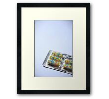 Medicine Time Framed Print