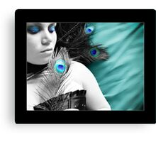 miss pc Canvas Print