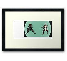 Samurai Jedi Framed Print
