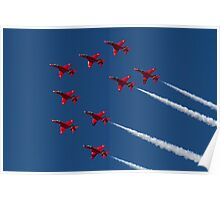 Red Arrows ! Poster