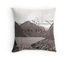 Pura Vida - Peru Throw Pillow