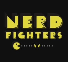 """NERDFIGHTERS"" - Pacman style! by Cristina S"