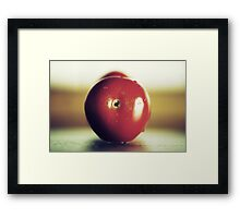 The red passion Framed Print
