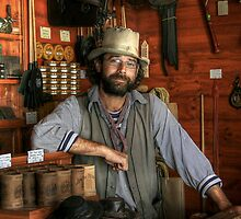 The Saddler at Sovereign Hill by Christine Smith