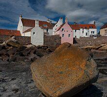 Rock on seashore - St. Monans by SnippsWhispers