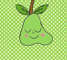 Pear by enelbosqueencan