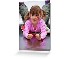 Sliding Joy Greeting Card