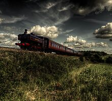 Pannier tank on the North Norfolk Railway by Rob Hawkins