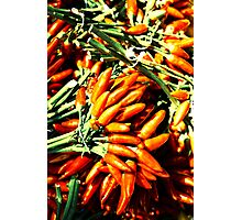 Spicy fingers Photographic Print