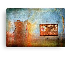 Divieto di sosta - No parking here Canvas Print