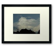 Supercell 1 Framed Print