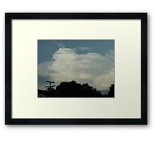 Supercell 2 Framed Print
