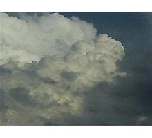 Cumulonimbus 74 Photographic Print