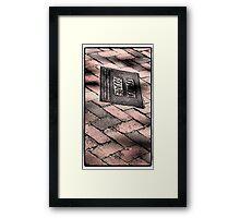 Johnson Square Framed Print
