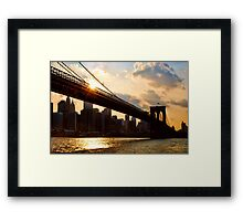 NYC, New York City, USA Framed Print
