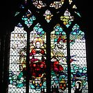 Stained Glass Window in Chester Cathedral by AnnDixon