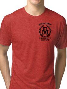 Miskatonic Faculty Tri-blend T-Shirt