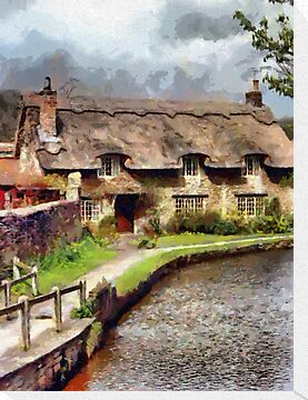 Beautiful Britain - Beck Isle Cottage, Thornton-le-dale, Yorkshire by Dennis Melling
