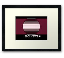 BBC News Framed Print