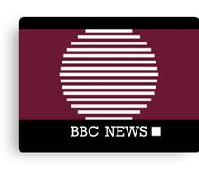 BBC News Canvas Print