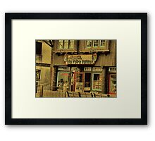 Gatlinburg, Tennessee Series, #5... The Old Timey Photo Shop, 2nd Picture Framed Print