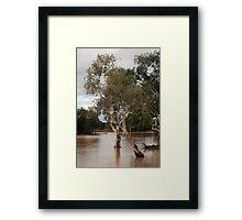 Outback drowned Framed Print