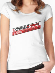Chatsubo Women's Fitted Scoop T-Shirt