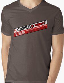 Chatsubo Mens V-Neck T-Shirt