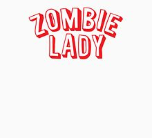 ZOMBIE LADY Womens Fitted T-Shirt
