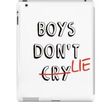 Boys don't lie iPad Case/Skin