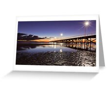 After Sunset at Semaphore. Greeting Card