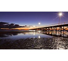 After Sunset at Semaphore. Photographic Print