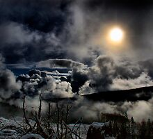High In The Clouds by Charles & Patricia   Harkins ~ Picture Oregon