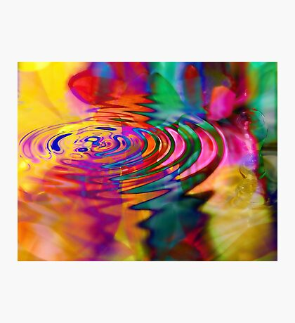 The Displacement of Natural Causality as it Pertains to the Physics of Unnatural Effect Photographic Print