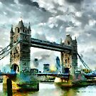 Beautiful Britain - Tower Bridge, London by Dennis Melling