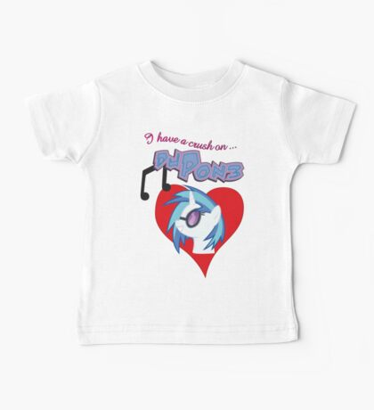 I have a crush on... DJ Pon3 - with text Kids Clothes