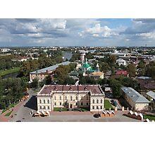 Vologda aerial view Photographic Print
