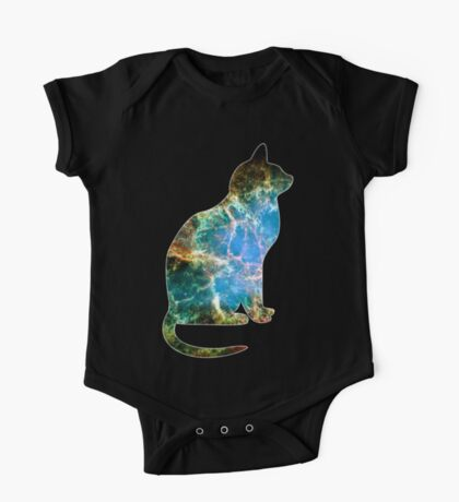 Space Cat One Piece - Short Sleeve