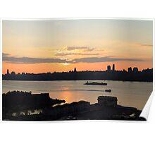 Sunrise on the Hudson Poster