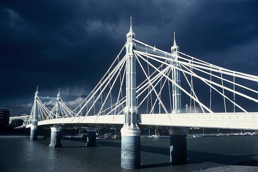 Albert Bridge, London by Dean Bailey