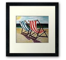 The Sun is Shining July 11 Framed Print