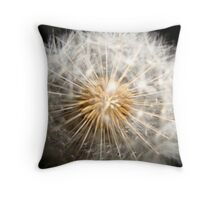 dandelion - a whisper in time Throw Pillow